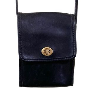 Coach Swingpack Scooter 9893 Black Leather